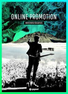 Cover Whitepaper Online Promo für Künstler*innen