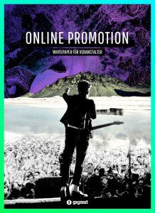 Cover Whitepaper Online Promo für Veranstalter*innen
