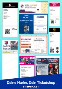 Ticketsamples, Snapticket