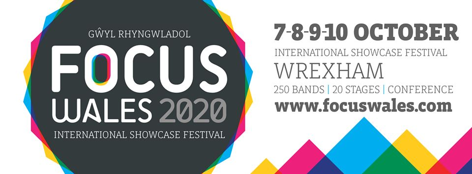 FOCUS Wales festival 2020 poster