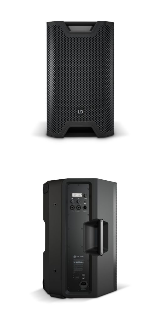 ICOA speakers front and back