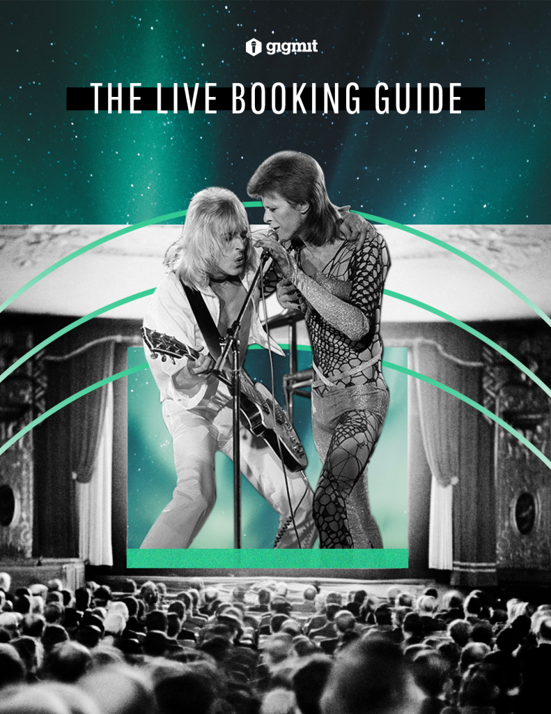 Cover: gigmit Live Booking Guide