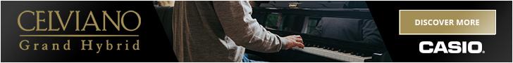 Casio Celviano Grand Hybrid banner