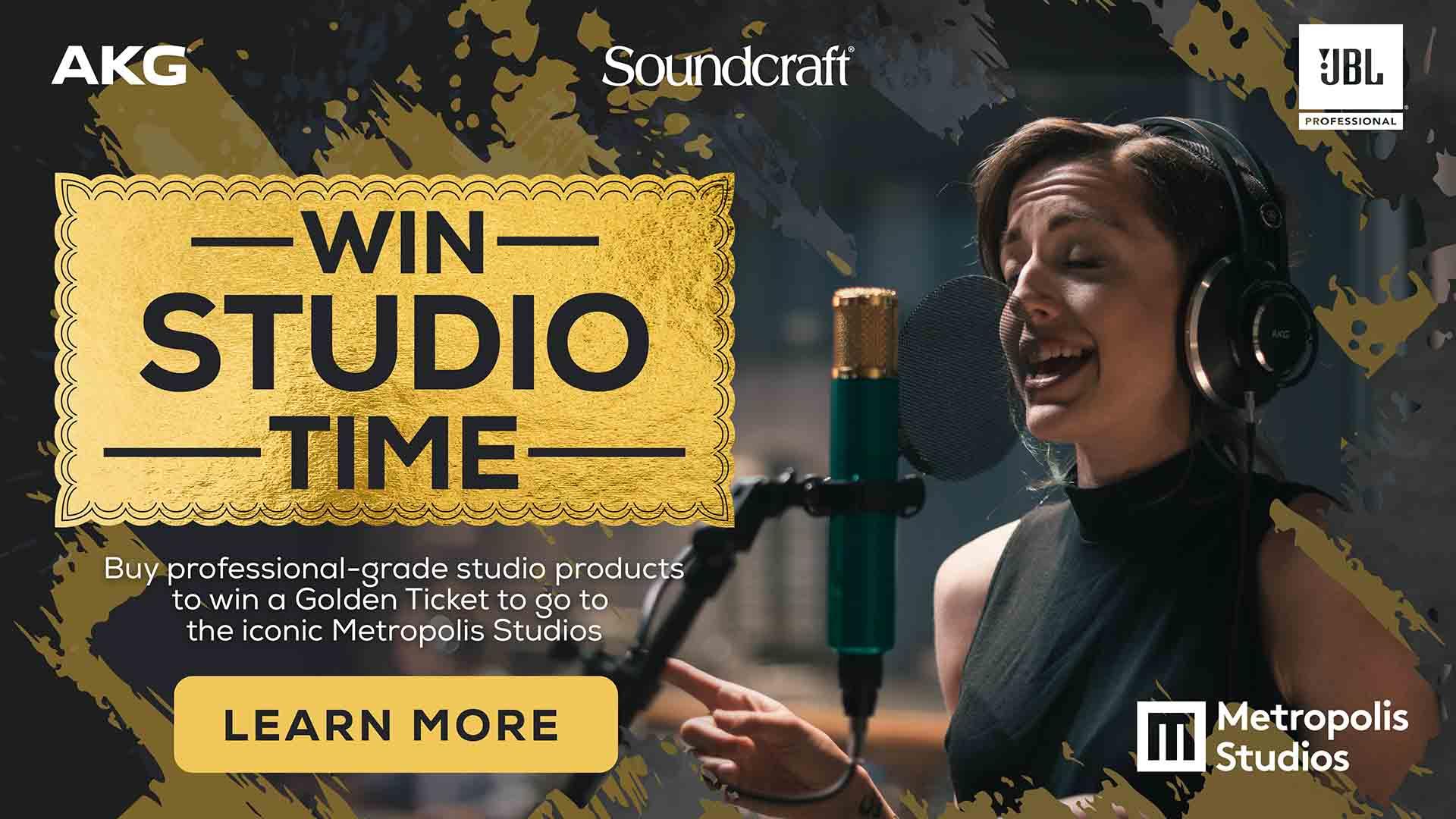 Win A Golden Ticket to Metropolis Studios