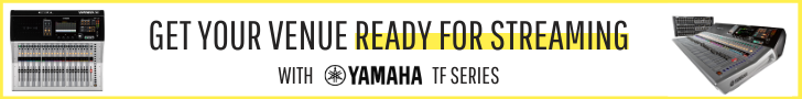 Yamaha ready for streaming banner