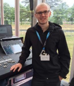 Tom Rundle, Yamaha Professional Audio Application Engineer