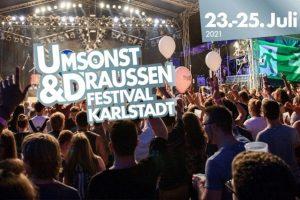 Umsonst & Draußen Festival 2021 poster