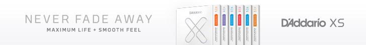 D'Addario XS Web Banner