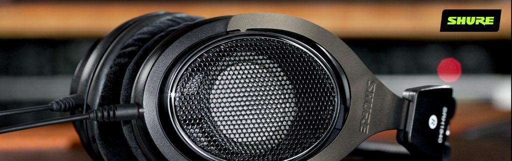 Vocal Processing: Shure Headphones